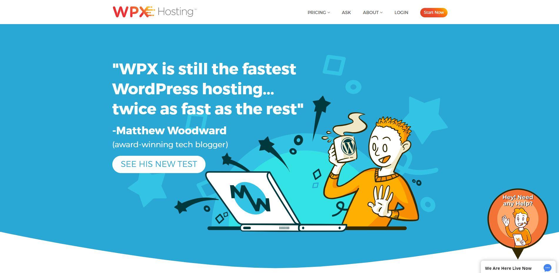 Test WPX Hosting